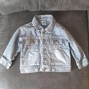 Old Navy denim jacket 18-24 months